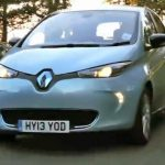 Charlie Bit the family Renault ZOE EV