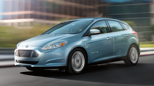 Ford Focus Electric (Image: Ford.com)