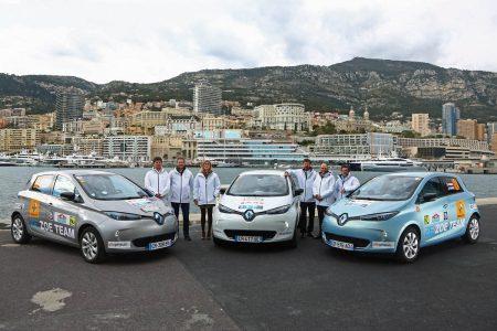ZOE Rallye Monte-Carlo ZENN (Image: Renault)
