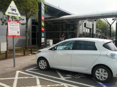 ZOE Charging at Hopwood (Image: Timbo)