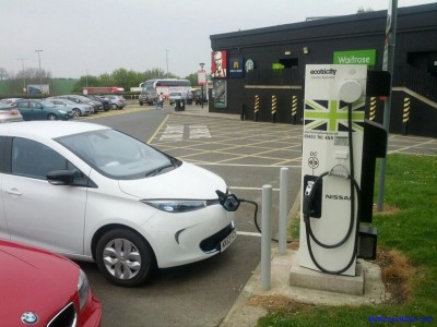 ZOE Charging at Woodall (Image: Timbo)