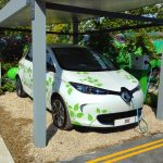 Renault ZOE to star in garden at Bloom