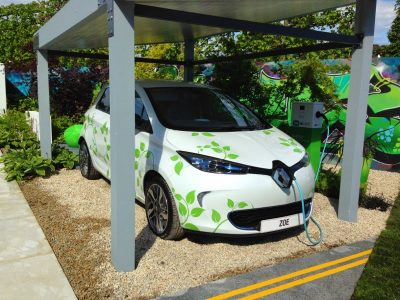 Renault ZOE to star in garden at Bloom (Image: IrishCarMan)