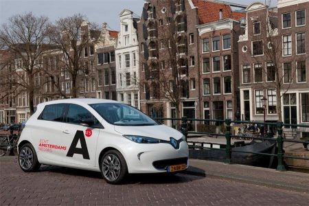 If you go to Amsterdam you might see AT5's new ZOE (Image: RenaultZE/Flicker)