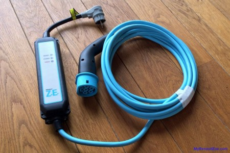 ZOE Domestic Charging Cable (Image: Surya)