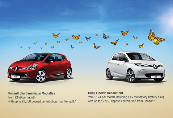 Renault ZOE Summer Offer (Image: Renault)
