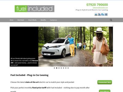 FuelIncluded.com Screenshot