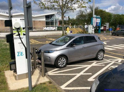 First charge in the UK (Image: Surya)