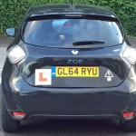 First driving test passed in a Renault ZOE