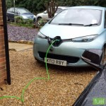 ZOE Charging Curve (2.3kW 'Granny' Cable)