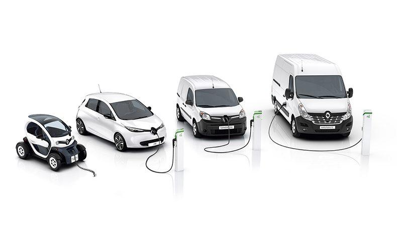 The Renault Electric Z.E. Range (Image: Renault)