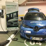 Renault ZOE in Emirates Road Trip