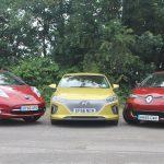 EV triple test: Hyundai Ioniq Electric v Renault Zoe v Nissan Leaf