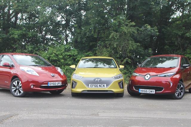 Renault Zoe Test >> Ev Triple Test Hyundai Ioniq Electric V Renault Zoe V