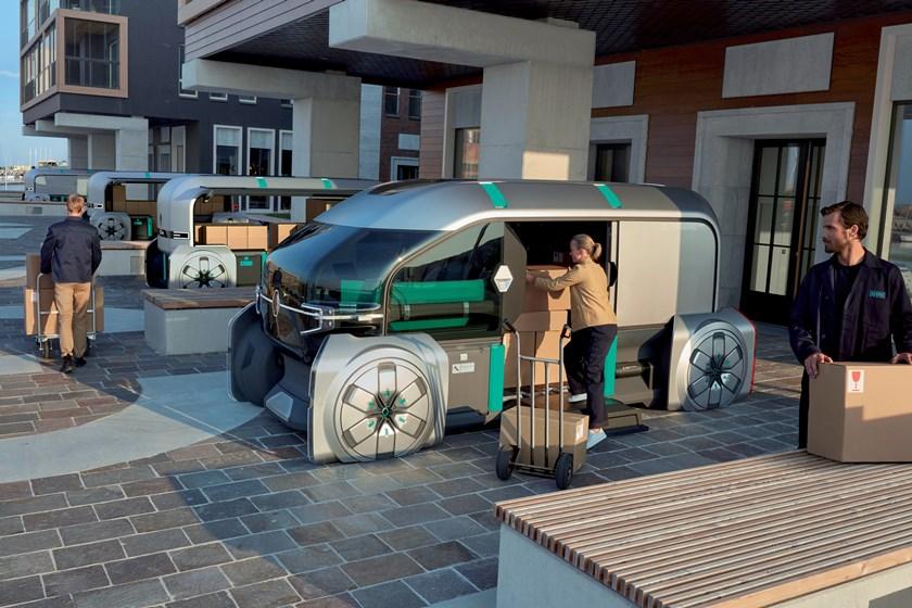 EZ-PRO Urban Delivery EV (Image: Renault)